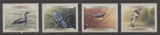 Canada #1839-1842 (SG#1974-1977) 2000 Birds of Canada Set of 4 Singles NF/DF Paper - VF-84 NH Brixton Chrome