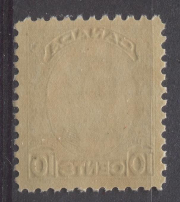 Canada #190 (SG#312) 10c Deep Olive 1933 Georges Etienne Cartier Deep Cream Gum VF-80 NH Brixton Chrome