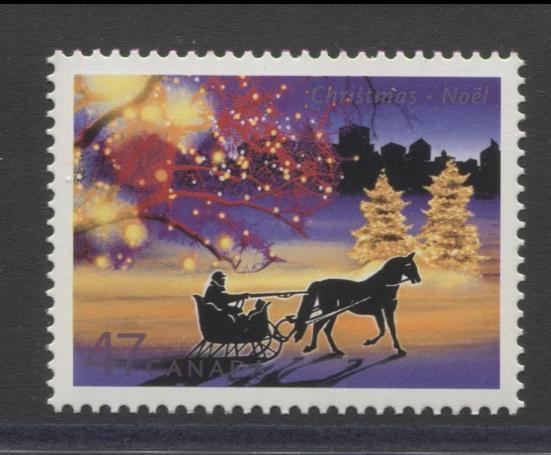 Canada #1922 (SG#2110) 47c 2001 Christmas Lights Issue NF/DF VF-84 NH Brixton Chrome