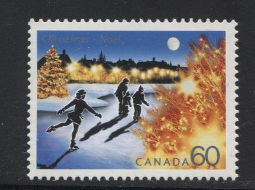 Canada #1923 (SG#2111) 60c 2001 Christmas Lights NF/DF Paper VF-80 NH Brixton Chrome