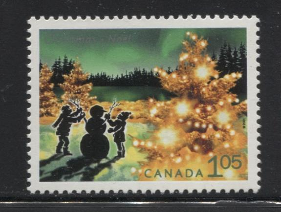 Canada #1924 (SG#2112) $1.05 2001 Christmas Lights Issue NF/DF Paper VF-80 NH Brixton Chrome