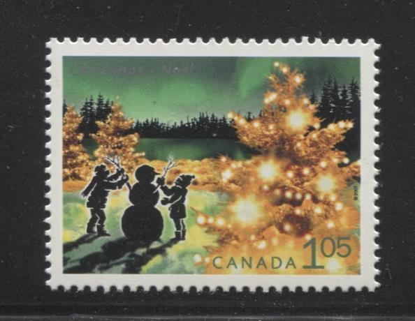 Canada #1924 (SG#2112) $1.05 2001 Christmas Lights Issue NF/DF Paper VF-84 NH Brixton Chrome