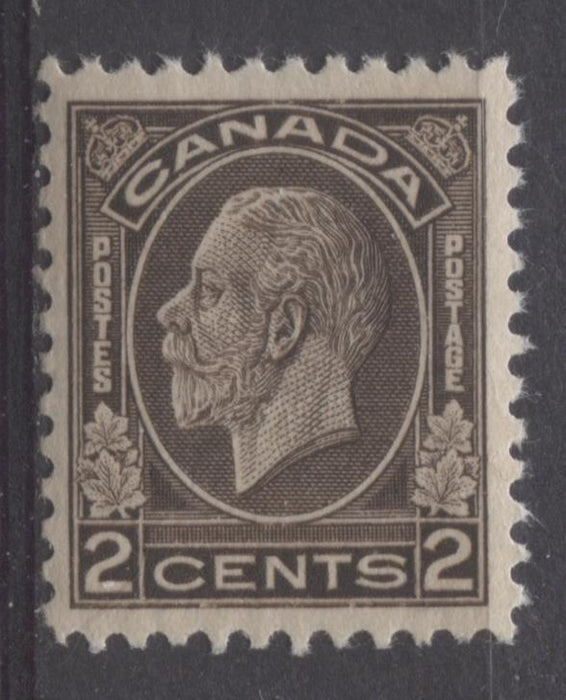 Canada #196 (SG#320) 2c Blackish Brown 1932-35 Medallion Issue Deep Cream Gum VF-80 NH Brixton Chrome