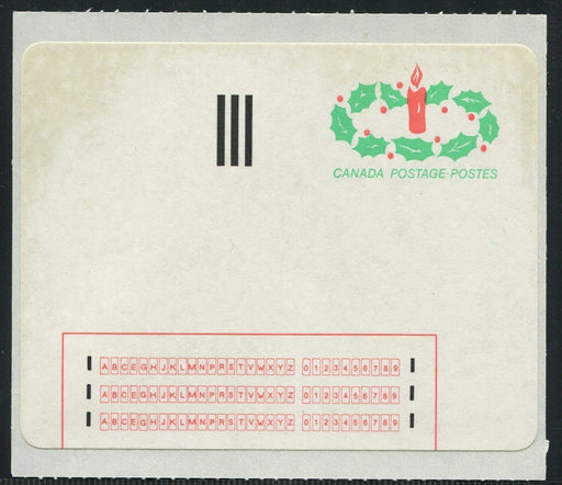 Canada #1ST 1983 Stick N Tic Label - VF Mint on Backing Paper Brixton Chrome