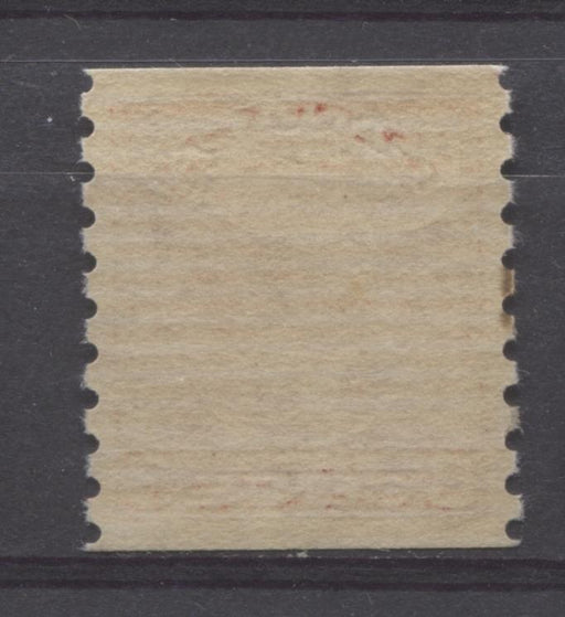 Canada #207 (SG#328) 3c Rose Red 1932-35 Medallion Issue Coil Cream Gum F-74 OG Brixton Chrome
