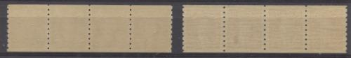 Canada #239 (SG#369) 2c Reddish Brown 1937-1942 Mufti Issue Coil Strip SUP-98 NH Brixton Chrome
