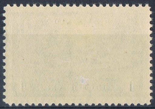 Canada #262 (SG#388) $1 Dark Blue Destroyer 1942-46 War Issue Vertical Wove Paper F-69 LH Brixton Chrome