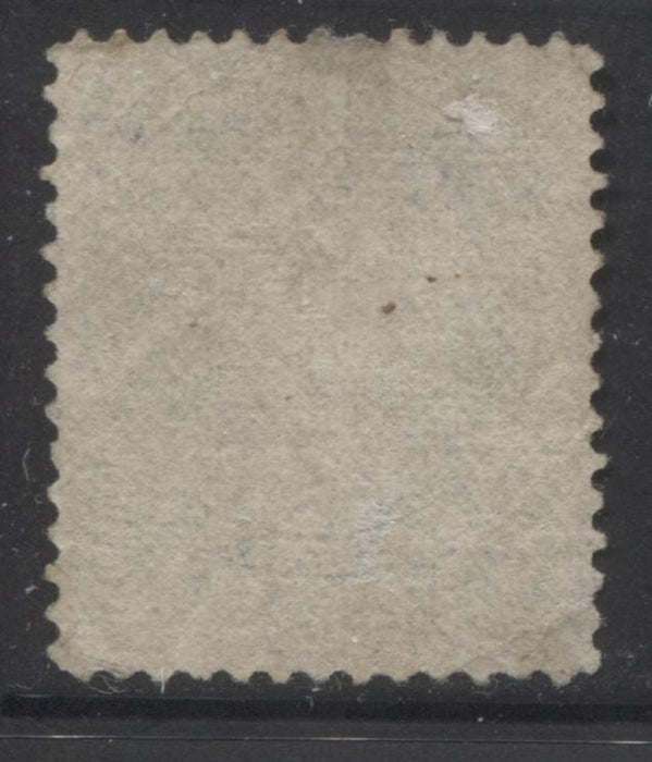 Canada #30i 15c Slate Grey Queen Victoria, 1868-1897 Large Queen Issue, Very Good Used Single on Vertical Wove Paper, Perf. 12.1 x 12.25 Brixton Chrome