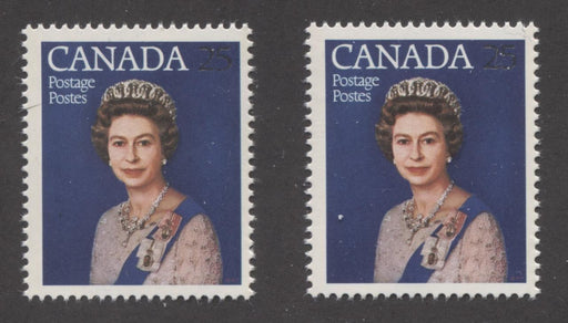 Canada #704 (SG#855) 25c Multicoloured Queen Elizabeth II 1977 Silver Jubilee Issue Paper Types 5 & 6 F-70 NH Brixton Chrome