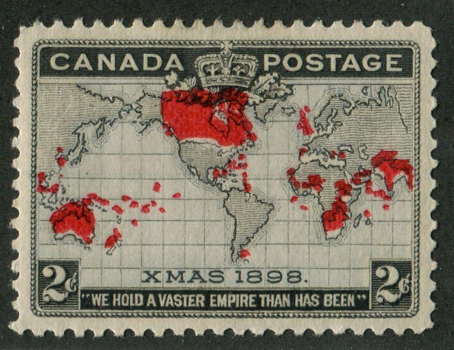 Canada #85 (SG#166) 2c Pale Lavender, Carmine & Black 1898 Christmas Colour Shift SUP-96 OG Brixton Chrome
