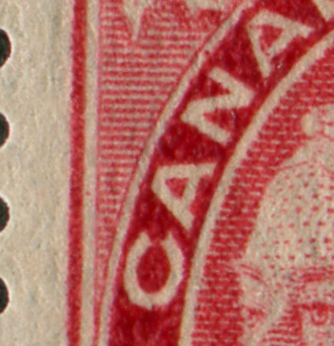 Canada #87 (SG#171) 2c on 3c Bright Rose Carmine 1899 Surcharges Re-Entry VF-80-J OG Brixton Chrome