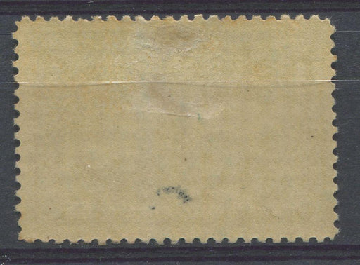 Canada #97 (SG#189) 1c Dark Blue Green Quebec Tercentenary Coarse Mesh Paper F-68 LH Brixton Chrome