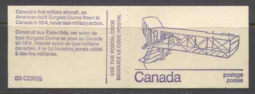 Canada #BK76l (SG#SB82) 50c 1972-1978 Caricature Issue Booklet - Burgess HB Cover NF/DF-fl Pane F-70 NH Brixton Chrome