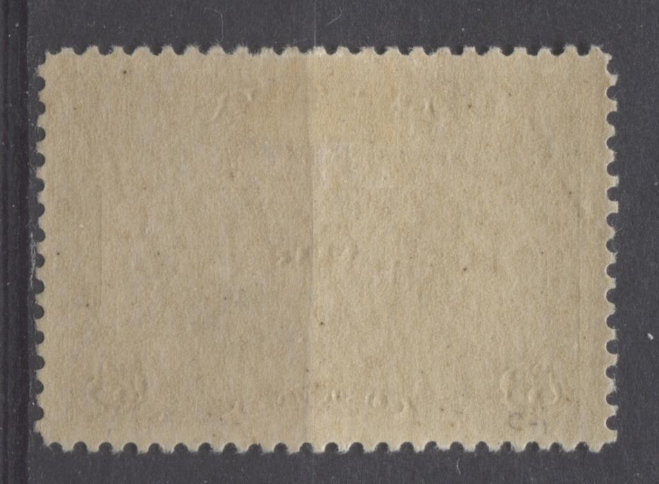 Canada #C1 (SG#274) 5c Olive Brown 1928 Scroll Issue Airmail Paper With No Mesh VF-84-J OG Brixton Chrome