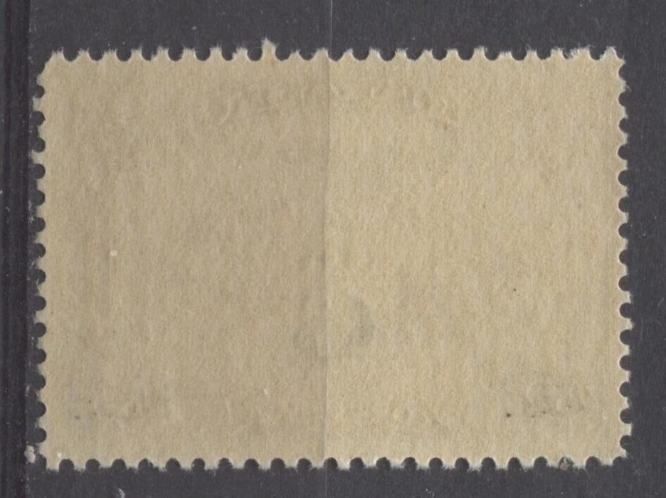 Canada #C3 (SG#313) 6c on 5c Olive Brown 1932 Surcharged Airmail Fine Mesh Paper F-70 NH Brixton Chrome