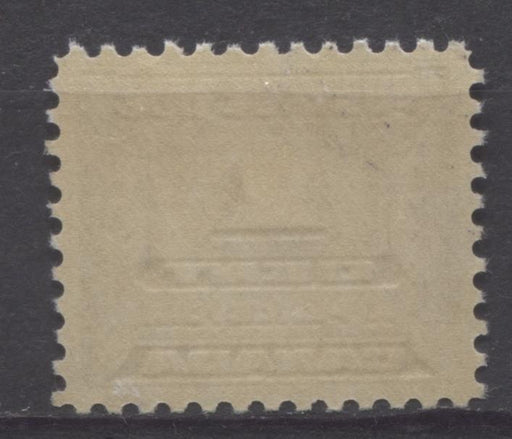 Canada #J11 (SG#D14) 1c Deep Bluish Lilac 1933-34 Third Postage Due Cream Gum VF-75 NH Brixton Chrome