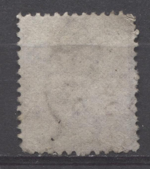 Lagos SG#1 1d Pale Slate Lilac 5th Printing Crown CC Watermark Perf. 12.5 Lagos CDS VG-64 Used Brixton Chrome
