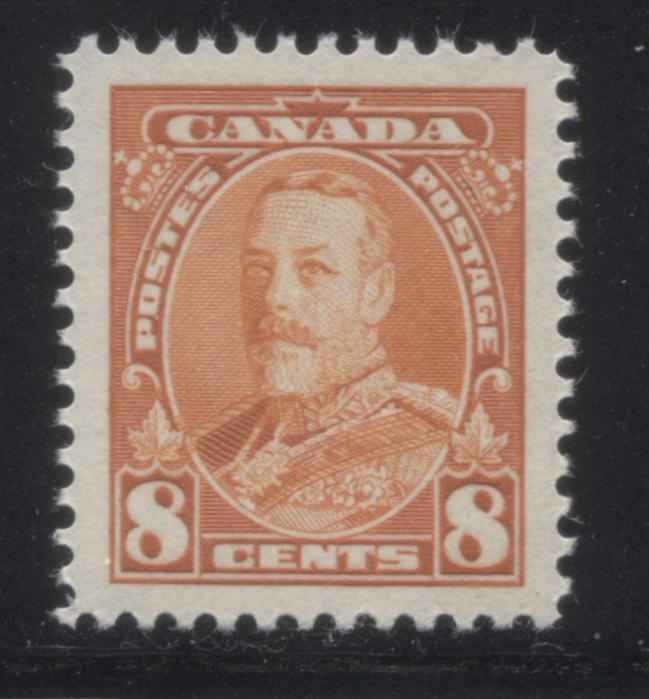 shopify auction Brixton Chrome Canada #222 8c Orange King George V, 1935-1937 Dated Die Issue, A Very Fine Mint NH Example-145949-88828
