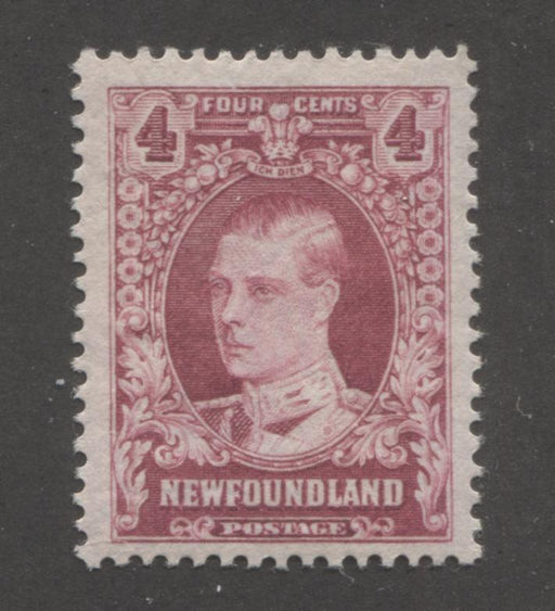 shopify auction Brixton Chrome Newfoundland #175 4c Deep Rose Prince of Wales, 1931-1932 Watermarked Publicity Issue, A Fine Mint NH Example of the Comb Perf. 13.8-163375-99819