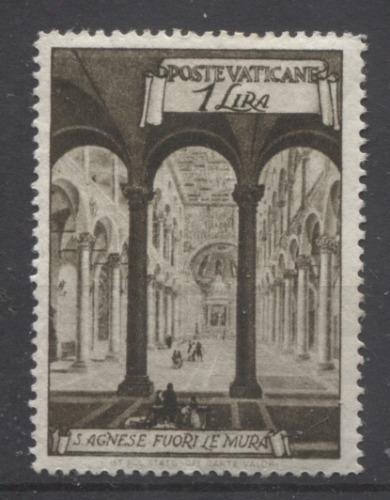 Vatican City #122-31, E11-12 1949 Basilicas Definitive Issue F-67 to VF-80 OG Brixton Chrome
