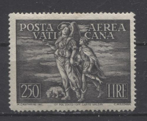 Vatican City #C16-C17 1948 250L-500L Archangel Raphael and Tobias Airmails VF-75 OG Brixton Chrome