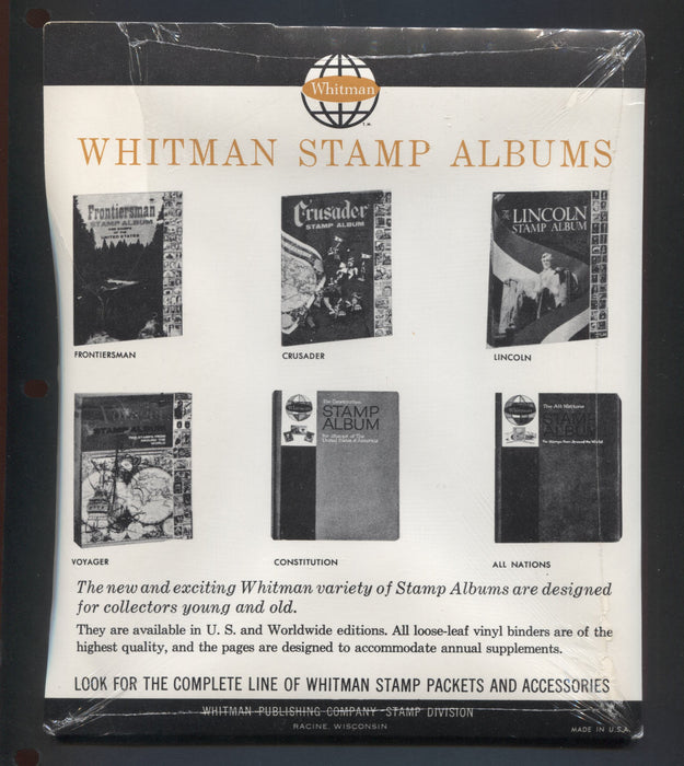 Worldwide - 1960's Whitman Stamp Packet of Kennedy Stamps - Still Sealed! Ideal for Framing Brixton Chrome