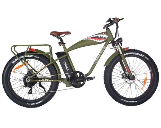 "ADDMOTOR MOTAN M-5500 26"" FLYING TIGER ELECTRIC MOUNTAIN BIKE"