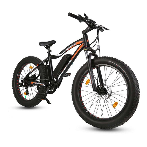 Ecotric Rocket Fat Tire Beach Snow Electric BikeRelax And Ride Bikes
