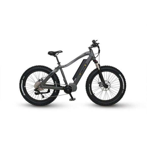 QuietKat 2019 NEW Warrior 1000 8-Speed Fat Tire Mountain Electric BikeRelax And Ride Bikes