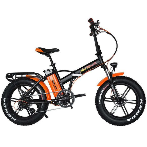 AddMotor 2019 NEW MOTAN M-150 R7 Folding Fat Tire Electric BikeFolding Electric BicycleAddMotorRelax And Ride Bikes