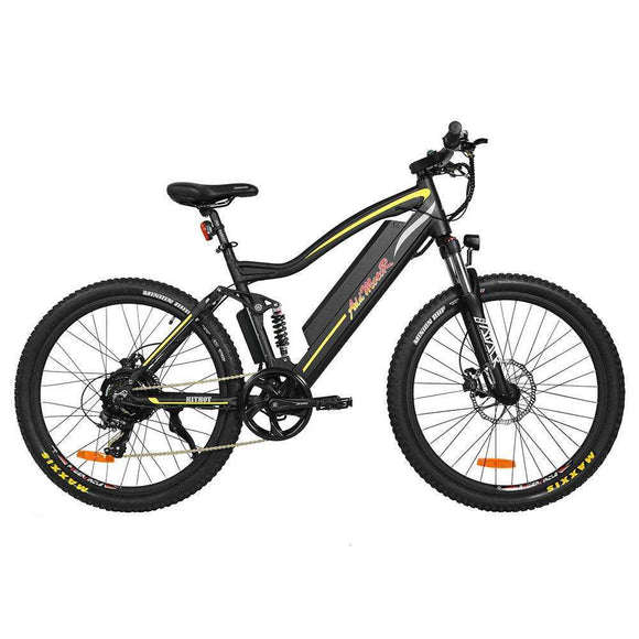 AddMotor HITHOT H1 Platinum Full Suspension Electric Mountain BikeMountain Electric BikeAddMotorRelax And Ride Bikes
