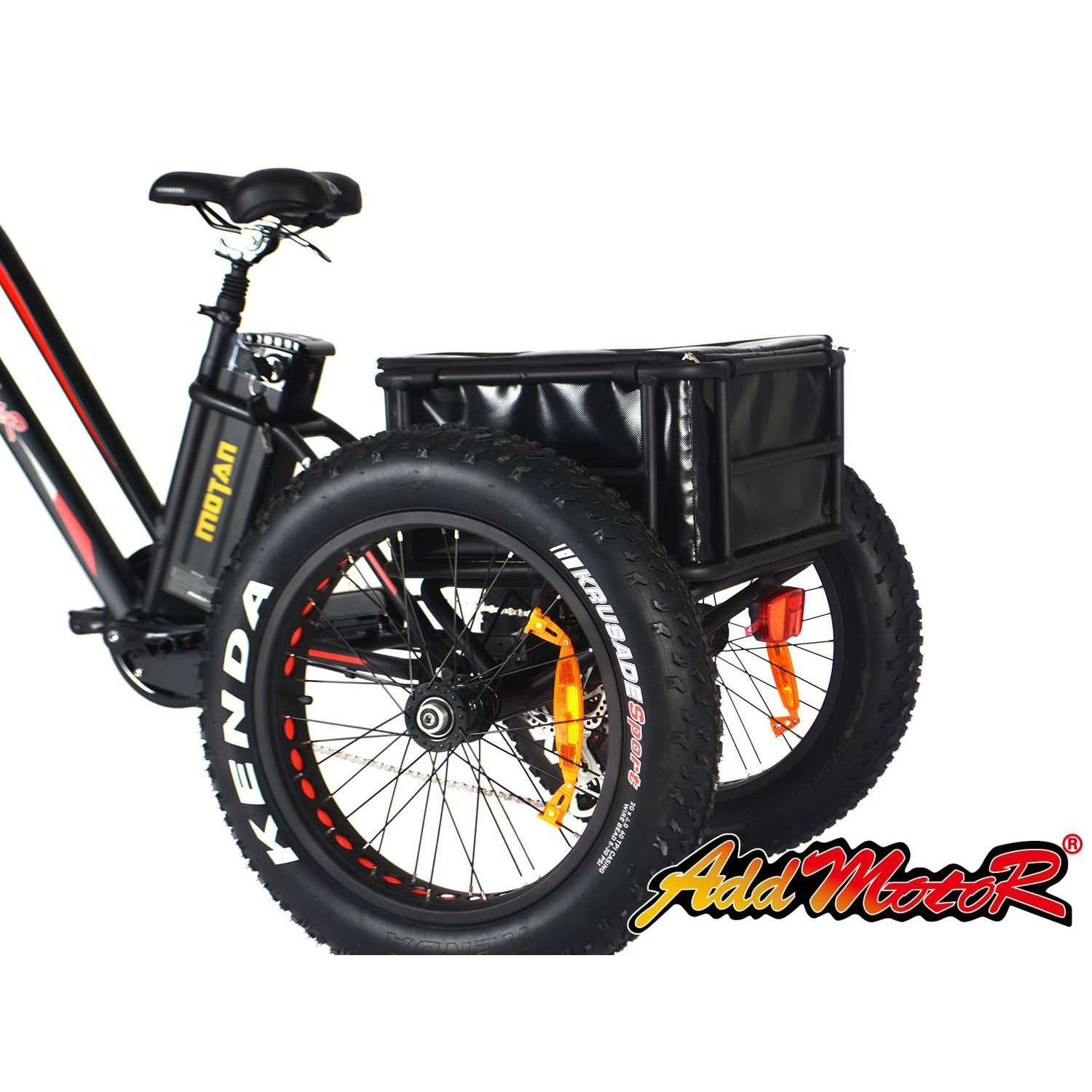 Addmotor Cargo Bike Trailer with A Bag