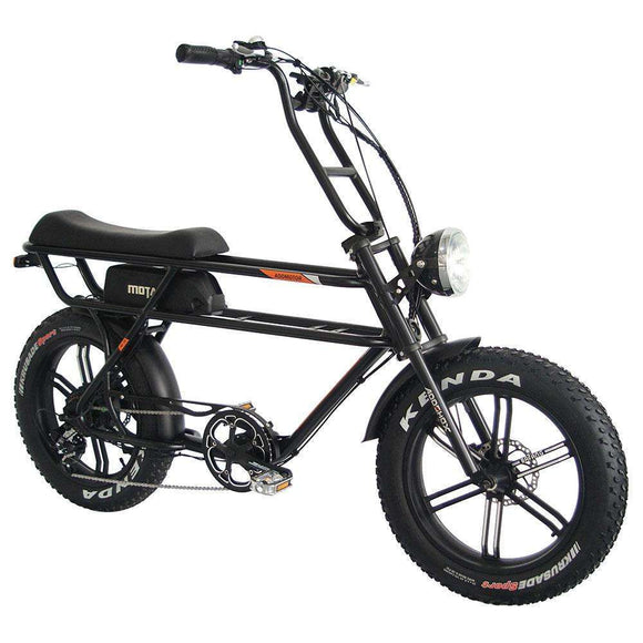 AddMotor MOTAN M-70 R7 Retro Beach Cruiser Fat Electric Mini MotorbikeRelax And Ride Bikes