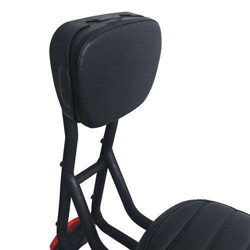 Addmotor Electric Bike Backrest Rear Back Seat Cushion with Soft Thick PU LeatherRelax And Ride Bikes