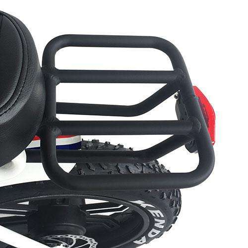 Addmotor Electric Bike Cycling Alloy Extender Rear Rack Carrier Pannier Quick ReleaseRelax And Ride Bikes