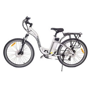X-Treme Trail Climber Elite Step Through Electric BicycleRelax And Ride Bikes