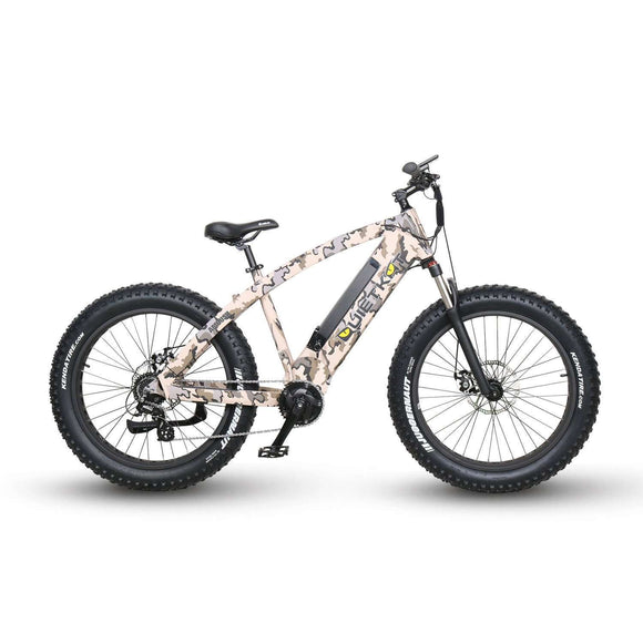 QuietKat 2018 Ambush 750 Fat Tire Electric BikeRelax And Ride Bikes