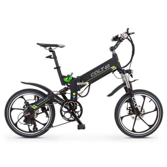 GreenBike Electric Motion Colt 48 Folding Electric BikeRelax And Ride Bikes