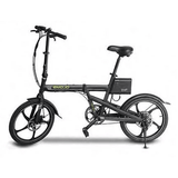 EMOJO City Trek Folding Electric BikeRelax And Ride Bikes