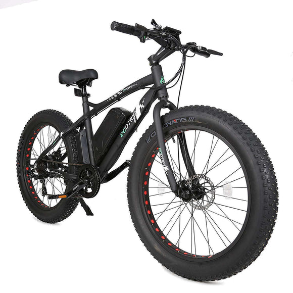 Ecotric Fat Tire Beach Snow Electric BikeElectric BicycleEcotricRelax And Ride Bikes