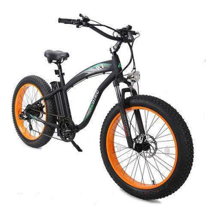 Ecotric Hammer 48V Electric Fat Tire Beach Snow BikeRelax And Ride Bikes