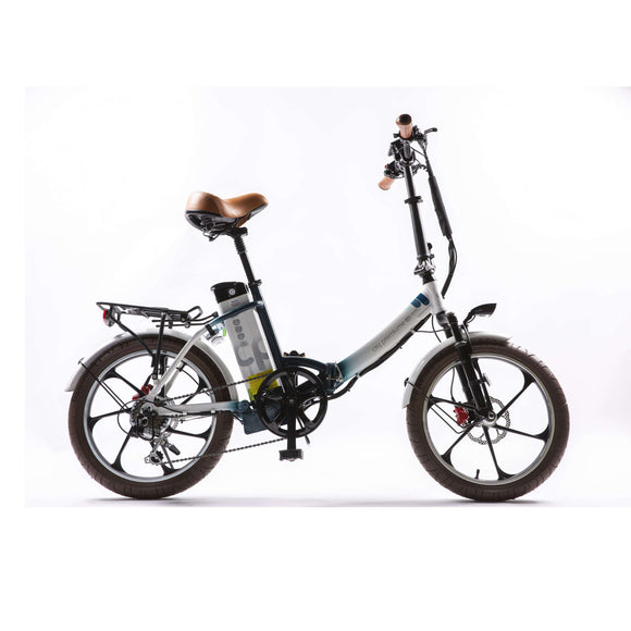 GreenBike Electric Motion City Premium 2020 Folding Electric BikeFolding Electric BicycleGreenBike Electric MotionRelax And Ride Bikes