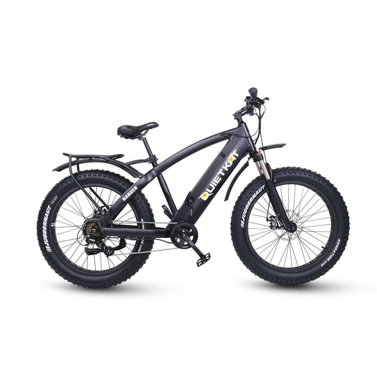 QUIETKAT 2018 RANGER 750 HUB MOTOR DRIVE FAT TIRE ELECTRIC BIKE