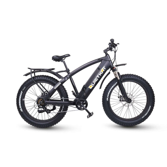 QuietKat 2018 Ranger 750 Hub Motor Drive Fat Tire Electric BikeRelax And Ride Bikes