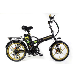 GreenBike Electric Motion Legend HD Folding Electric BikeRelax And Ride Bikes
