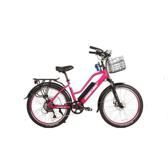 X-Treme Catalina Beach Cruiser Electric BicycleRelax And Ride Bikes