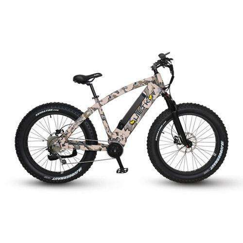 QuietKat 2018 Predator 750 Mozo Air Suspension Fat Tire Electric BikeRelax And Ride Bikes