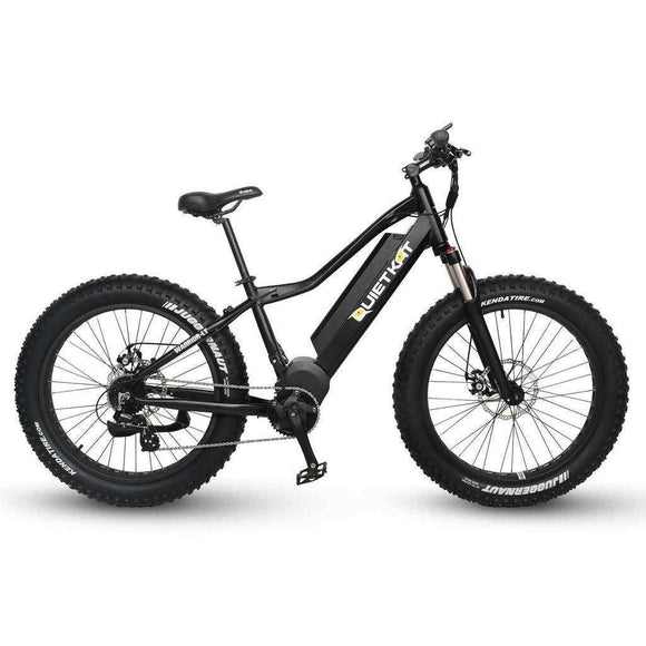 QuietKat Canyon 48V 1000W Fat Tire Hunting Mountain Electric BikeRelax And Ride Bikes