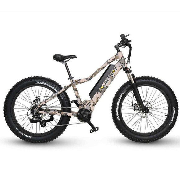 QuietKat Zion 48V 750W Mountain Hunting Electric BikeRelax And Ride Bikes