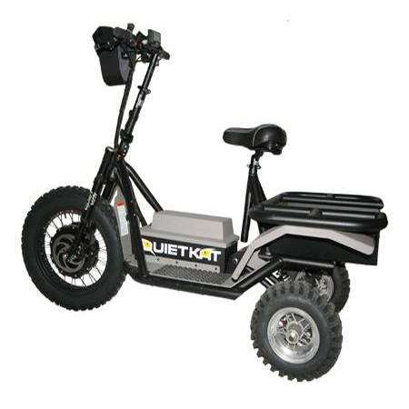 Quietkat 60V Prowler AP Electric TrikeRelax And Ride Bikes